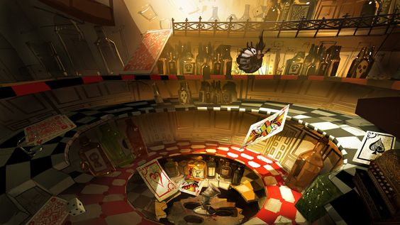 Alice: Relapse Pub W.I.P. by medders on @deviantART