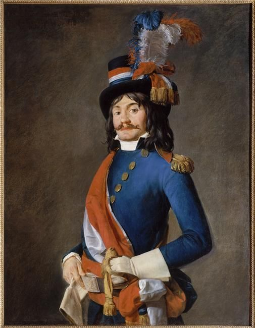 Entourage of Jacques Louis David Portrait of Jean-Baptiste Milhaud, Deputy of the Convention, in his uniform of representant of the People to the Armies (1794)