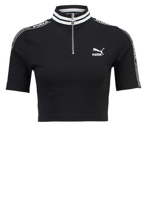 Print T-shirt black Women Clothing Tops