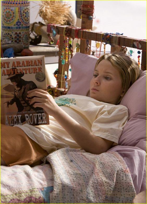 "Abigail Breslin in ""Nim's Island"":"
