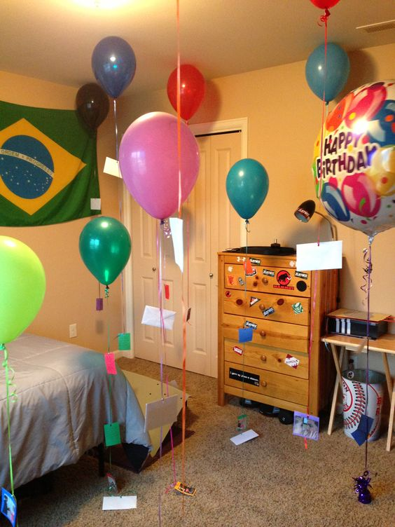 Birthday surprise for my boyfriends birthday each for What do i get my bf for his birthday