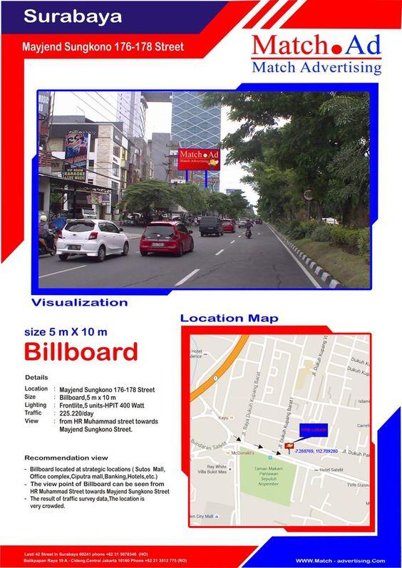 Surabaya Barat, Jl. Mayjen Sungkono No. 176-178 (Ruko Grand Sungkono) - Billboard 5x10