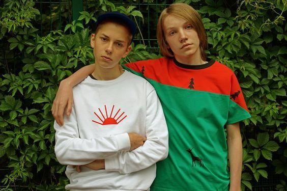 Gosha+Rubchinskiy+x+Timur+Novikov