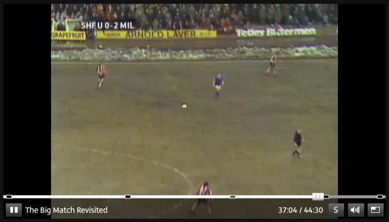 ITV4 The Big Match Revisited, Series 2 Episode 9, Sheffield United v Millwall, 32.44 in.