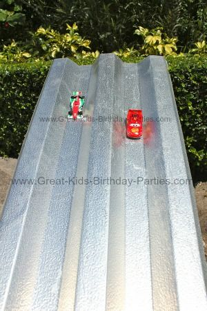 Disney Cars Birthday Party...so many great ideas. Could be used for cars/monster jam etc: