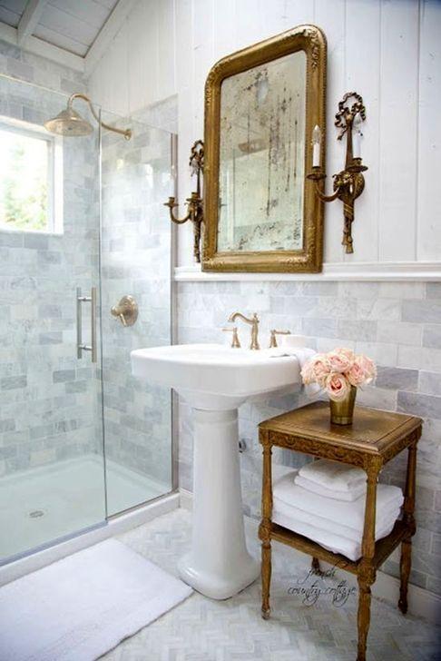 Tolle 60 Einfache Traditionelle Ideen Fur Das Badezimmerdesign