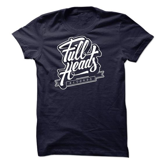 Full Heads Records T Shirt, Hoodie, Sweatshirt