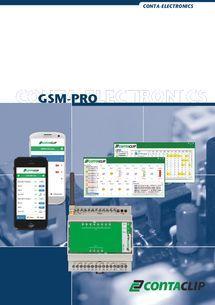 CONTA-CLIP - Aus der Ferne alles im Griff: GSM-PRO die M2M Remote I/O Lösung