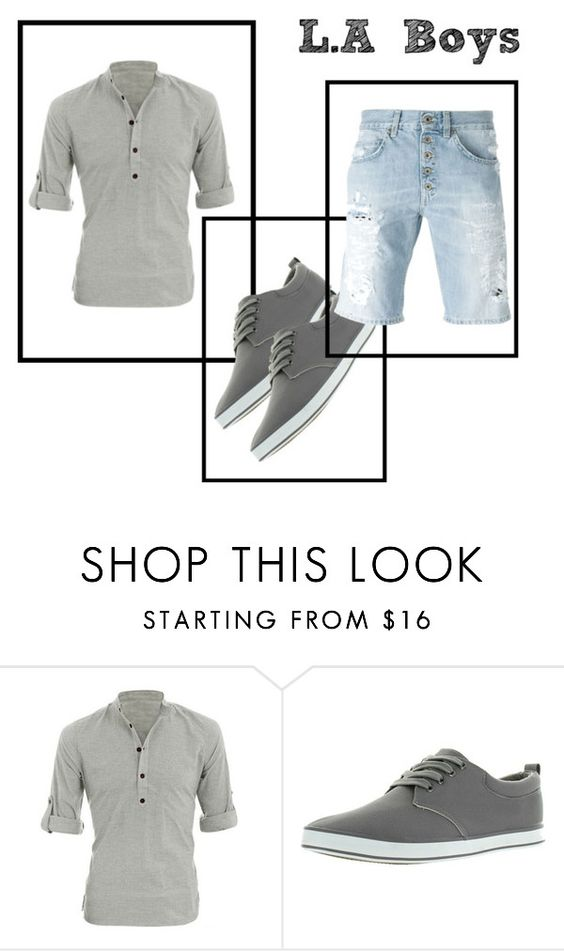 """L.A Boys"" by zipi139 ❤ liked on Polyvore featuring Allegra K, Arider, Dondup, men's fashion and menswear"