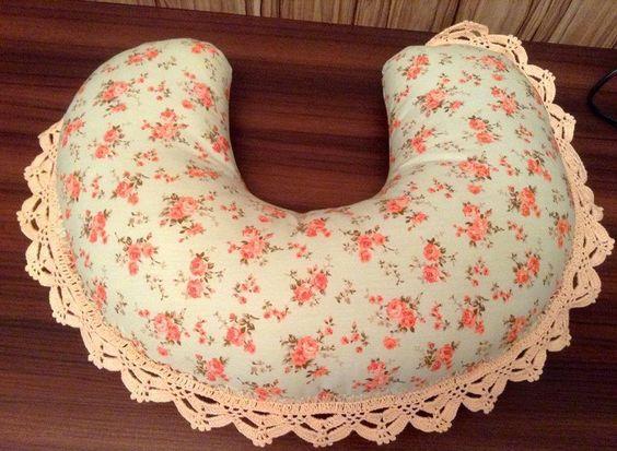 Almofada de pescoço | Anna Bragança | Elo7