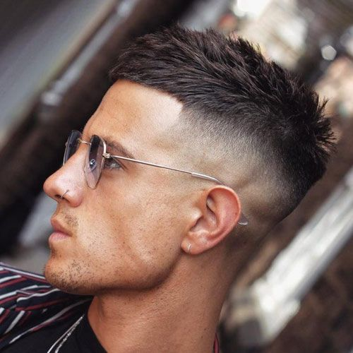 Crop Top Fade Best Hairstyles For Men With Big Foreheads Short Men S Haircuts For Large High For In 2020 Mens Haircuts Short Mens Hairstyles Short Haircuts For Men