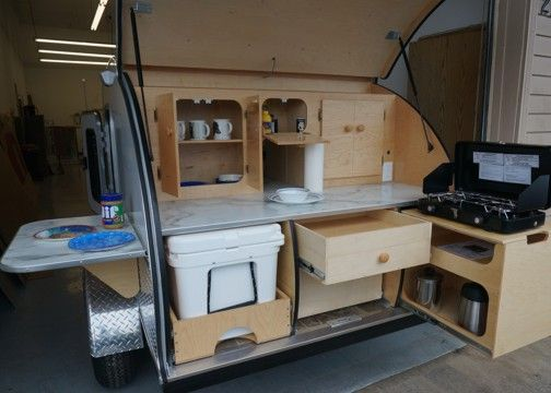 Photos Of Galley Options Teardrops Etc Pinterest Trailers Trailer Storage And Teardrop