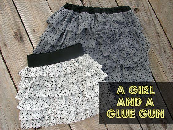 tiered skirt tutorial