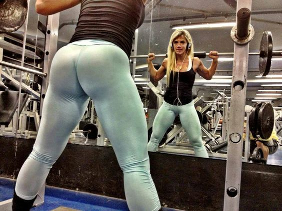 Squats + weighted resistance= the butt you want