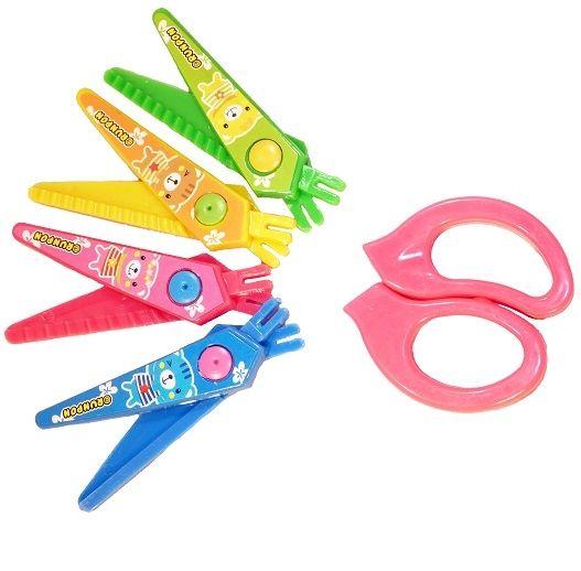 Gyerekeknek, kreatív tevékenységhez mintavágó olló készlet. Kés, villa olló valóban nem gyerek kezébe való, azonban ez egyszer mégsem így van! A...