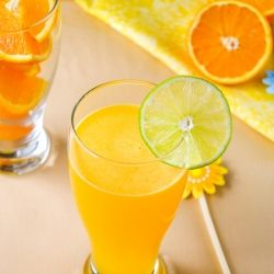 Orange Mocktail - Very refreshing n perfect summer drink with only 4 ingredients!