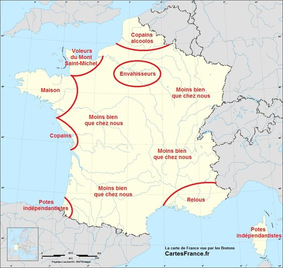 Tu sais que tu es Breton quand :  - Tu sais qu'en Bretagne aussi il y a du soleil.  - Pour toi, faire des crêpes ça ne s'arrête pas au Mardi...
