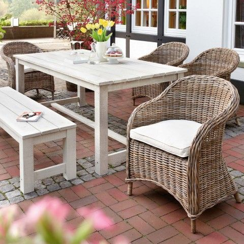 gartenm bel rattan set. Black Bedroom Furniture Sets. Home Design Ideas