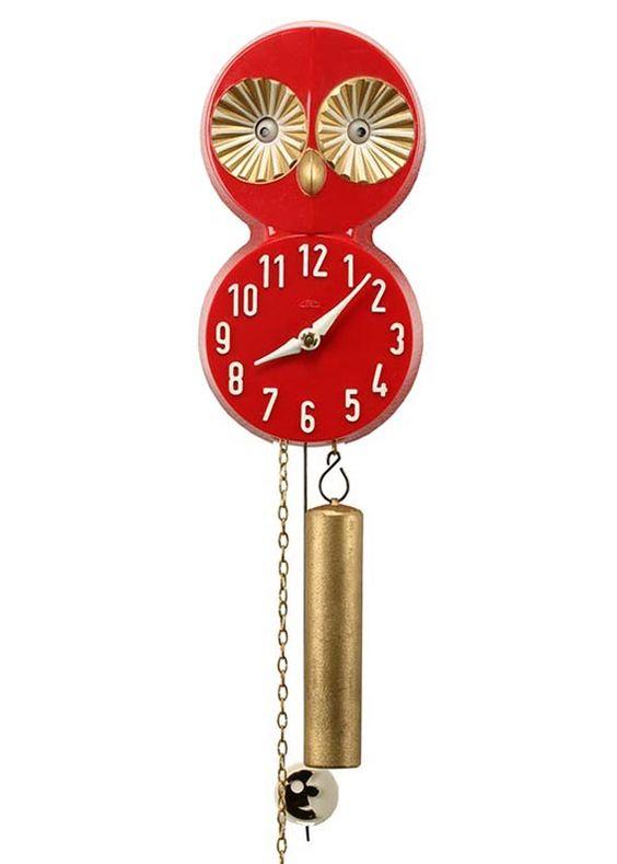 design-is-fine:  Prim Rolling-eye clock, 1981. Chronotechna, CSSR. Deutsches Uhrenmuseum