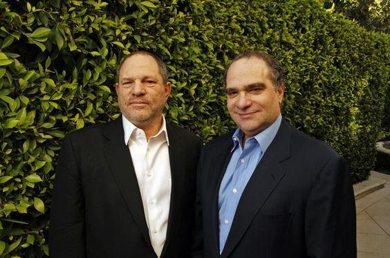 Harvey and Bob Weinstein.