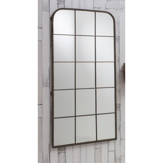 Rochester Window Mirror 127 x 61cm Rochester Wall Mirror   Exclusive Mirrors [EE2760] - £112.20 : Mirrors for Every Interior from Exclusive Mirrors