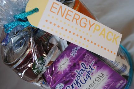 Energy Pack for new parents