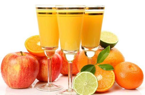 ميلك شيك المانجو مع البرتقال - نصف الدنيا