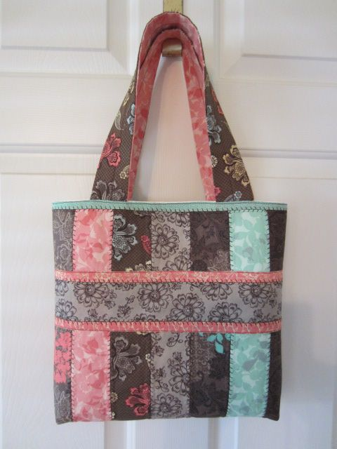 jelly roll bag: http://www.etsy.com/listing/61221806/jelly-roll-tote-bag-sewing-pattern-with