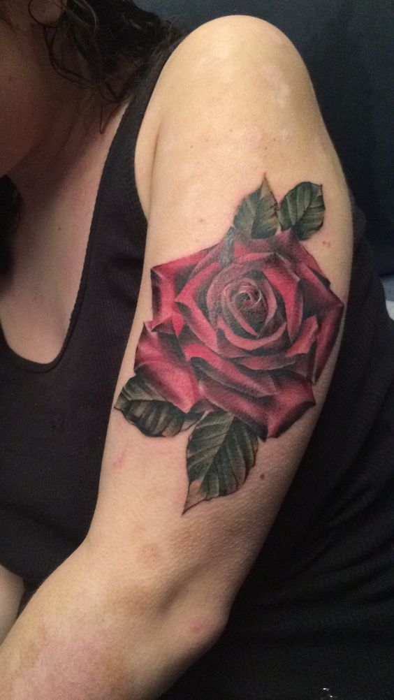 Got a tattoo for my grandpa. It was worth the 5 hours of pain❤️🌹
