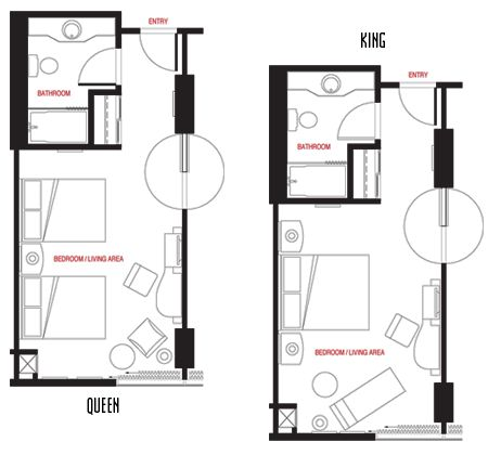 Hotel Room Floor Plans | ... in Las Vegas, NV - Best Las Vegas Hotel Room  Deals - Treasure Island | hotel room plan | Pinterest | Treasure island, ...
