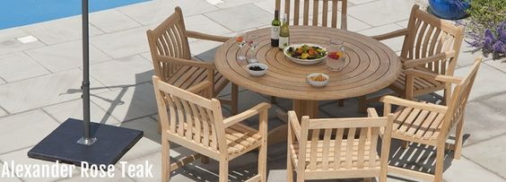 monte carlo teak garden furniture - Google Search