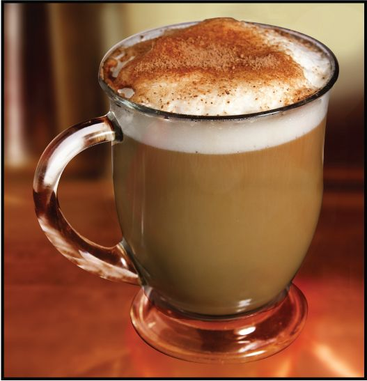 Easily make foam to top off a delicious latte