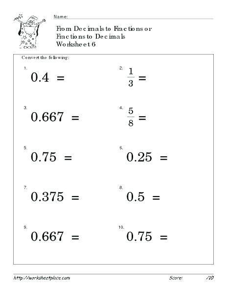 27 Decimals Worksheets Grade 4 How To Turn Decimals Into Fractions Peacer Decimals Worksheets Fractions Worksheets Math Fractions
