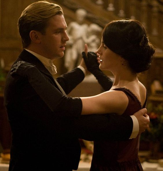 Matthew and Mary - Downton Abbey, of course