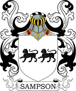 Sampson Coat of Arms