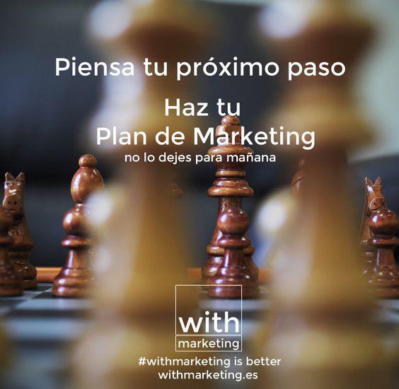 Enfoca tus acciones de marketing para alcanzar los objetivos y optimizar tus recursos #withmarketing #marketing #infografía #gestión #planificación