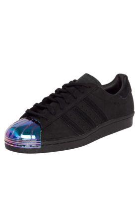 179f5efc020bcb Tênis Couro adidas Originals Superstar 80S Metal Toe Preto