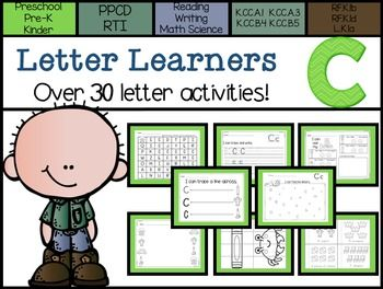 Letter Learners: Letter C | Activities, Kindergarten and The o'jays