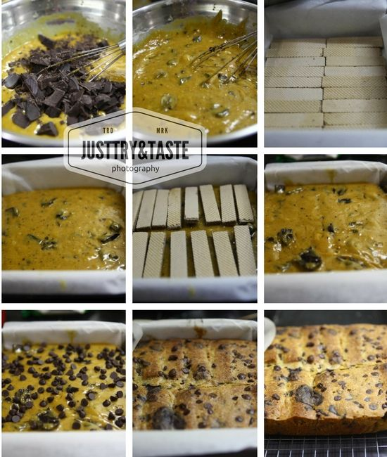 Just Try Taste Resep Wafer Blondies Dengan Chocochips Resep Brownies Coklat