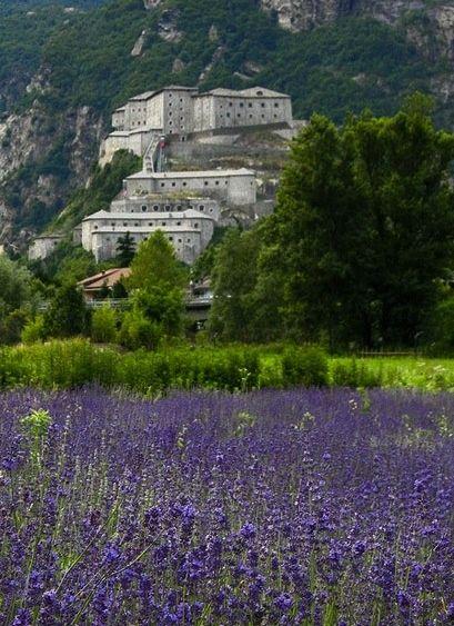 Forte di Bard, Valle d'Aosta Italy
