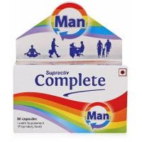 Buy Supractive Complete Man capsules for extra nourishment online in India at https://www.clickoncare.com/supractiv-complete-man