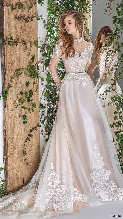 "Papilio 2018 Wedding Dresses — ""Wonderland"" Bridal Collection"