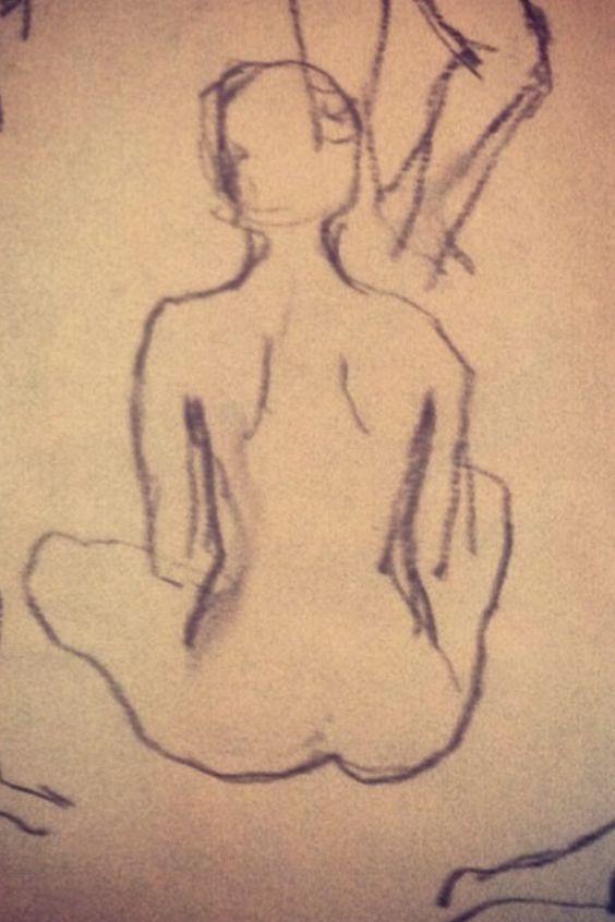 scetch art, tattoo idea, painting school, nude model