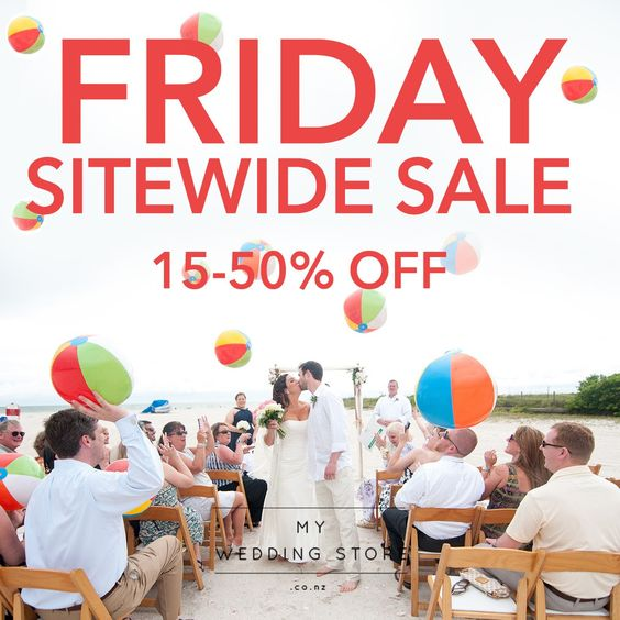 Bargain - 15-50% OFF - Sitewide Sale @ My Wedding Store
