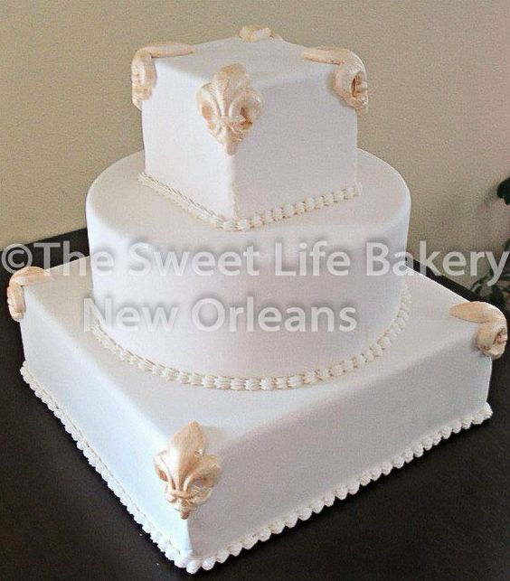 Fleu r de lis Patriotic USA military Navy  custom cake by The Sweet Life Bakery New Orleans www.nolasweetlife.com email info@nolasweetlife.com (504)371-5153 #nolasweetlife @nolasweetlife