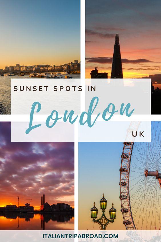 Sunset Spots in London, UK