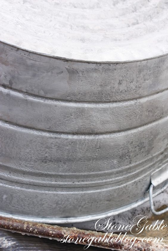 How To Age Galvanized Metal Galvanized Metal 6 Mo And