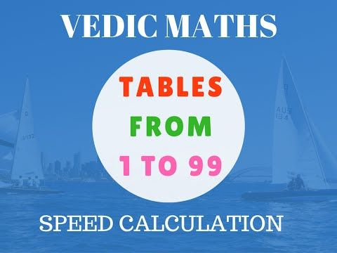 Vedic Maths Made Tables Easy For Kids Youtube Mental Math Math Subtraction Math Tables