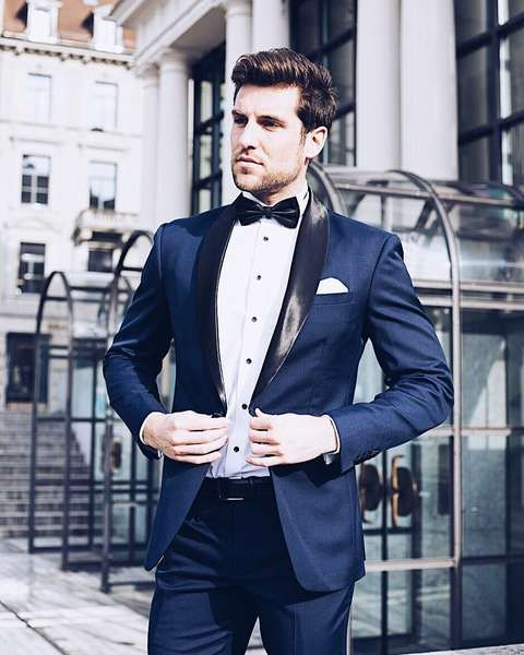 Anzug Trends Fur Den Brautigam Und Seine Gaste Anzug Hochzeit Blauer Anzug Brautigam Anzug