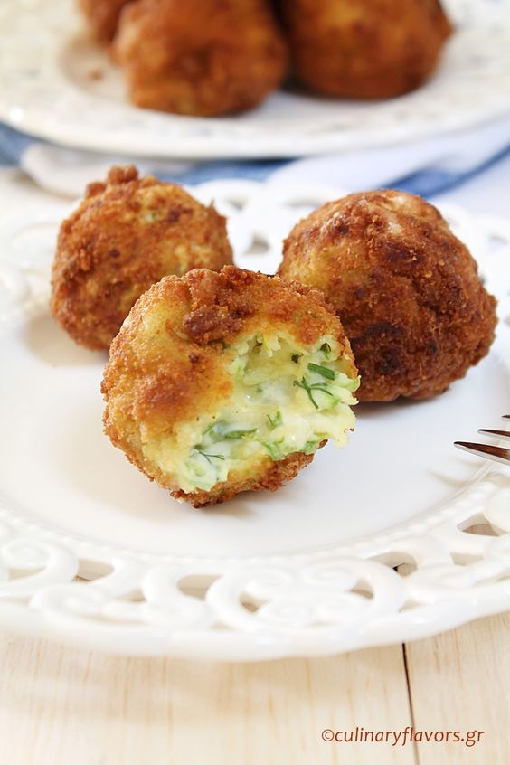 Zucchini Fritters from Culinary Flavors